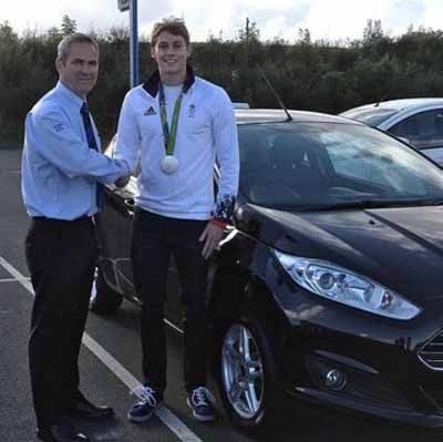 OLYMPIAN CHOOSES MAXWELL MOTORS!!