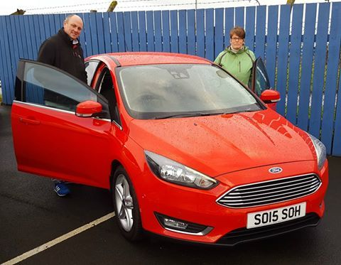 RACE RED FOCUS JUST THE REMEDY ON BLEAK DAY IN BERWICK...
