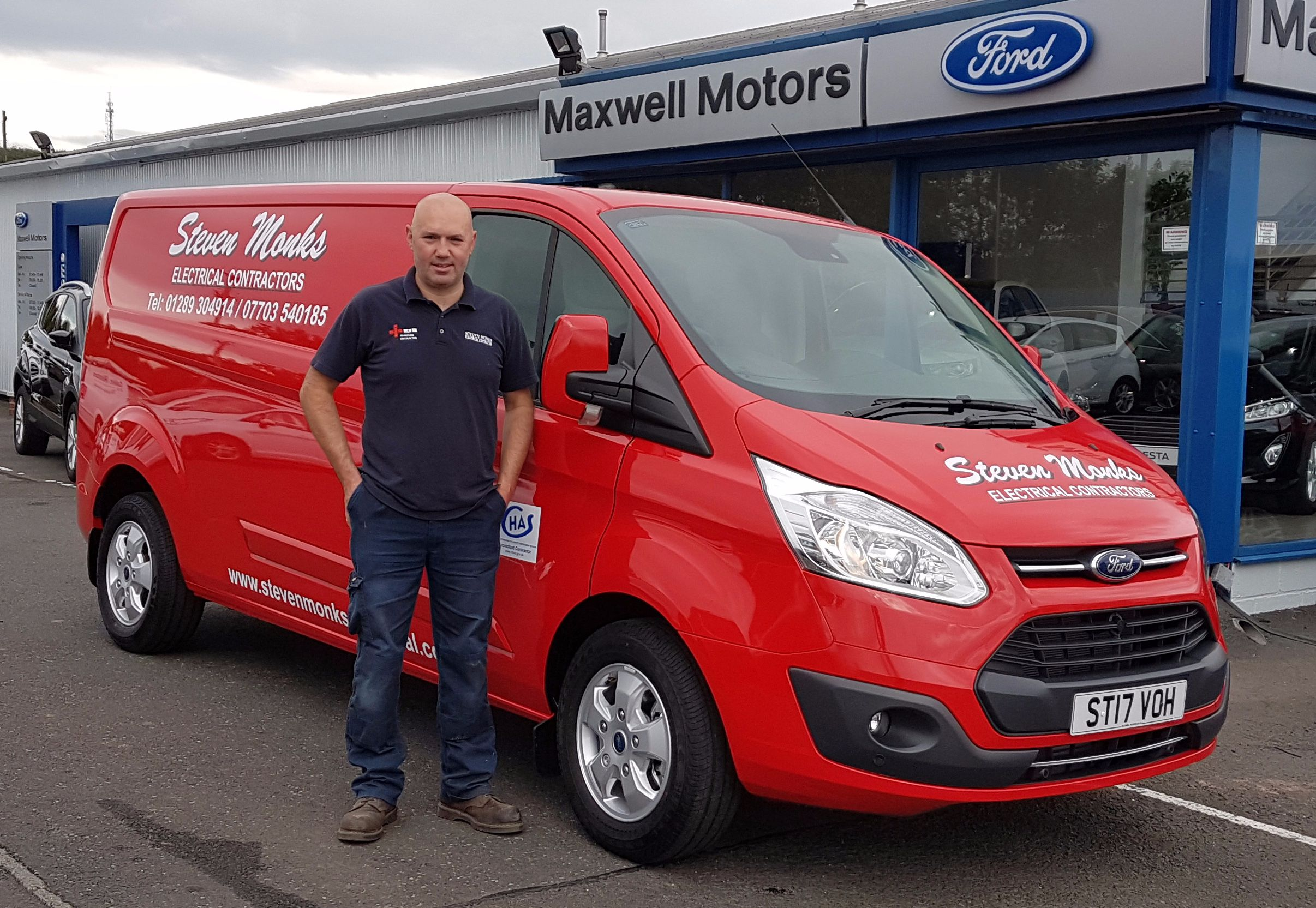 LOCAL ELECTRICAL CONTRACTOR UPGRADES FLEET VEHICLE...