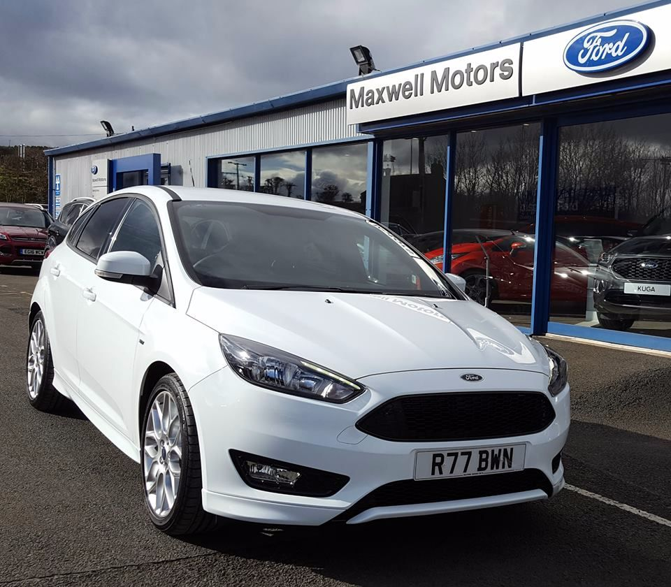 Ford FOCUS 1.5 TDCi 120PS ST-Line Manual