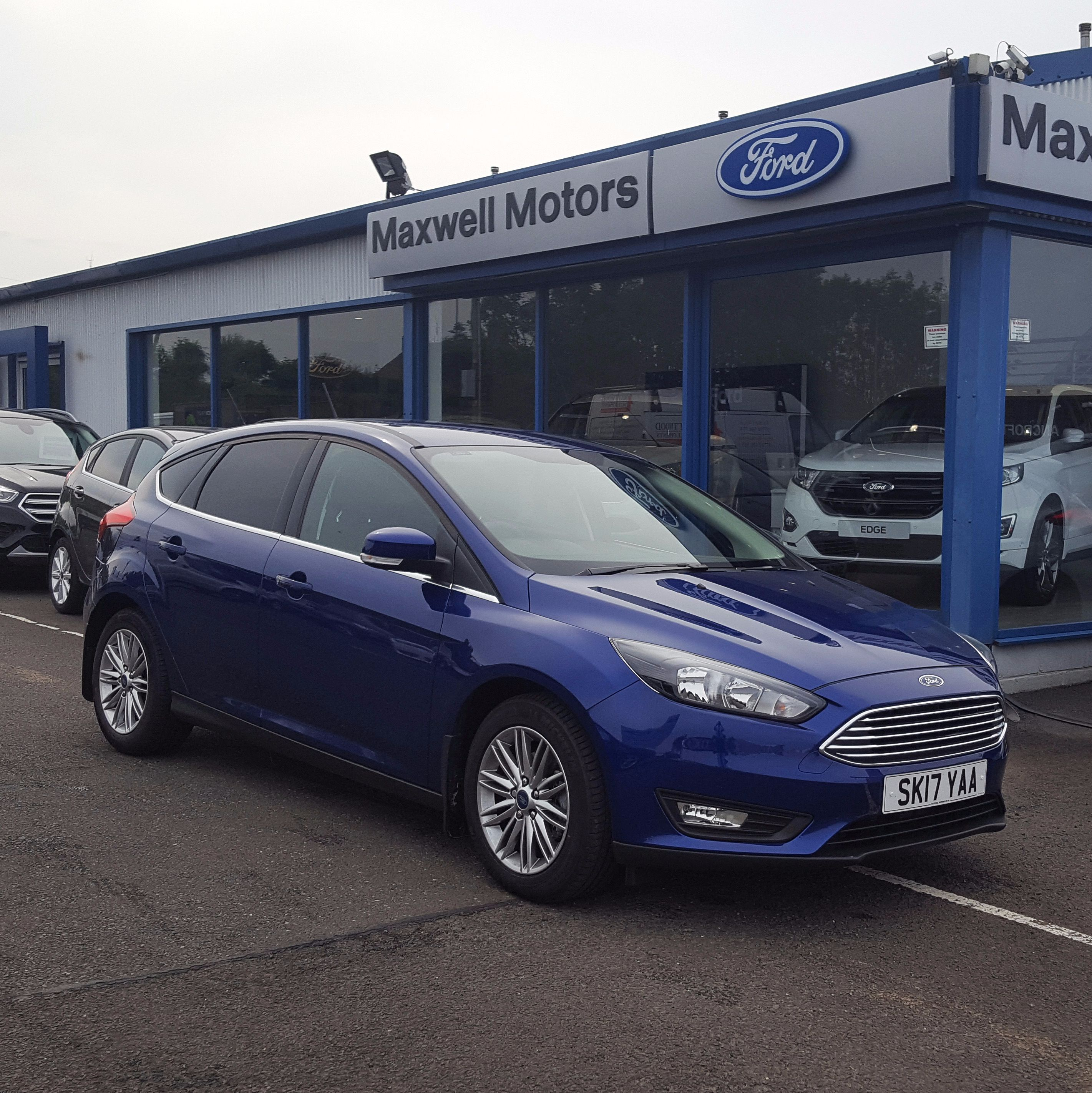 Ford FOCUS 1.5 TDCi 120PS Zetec Edition Manual