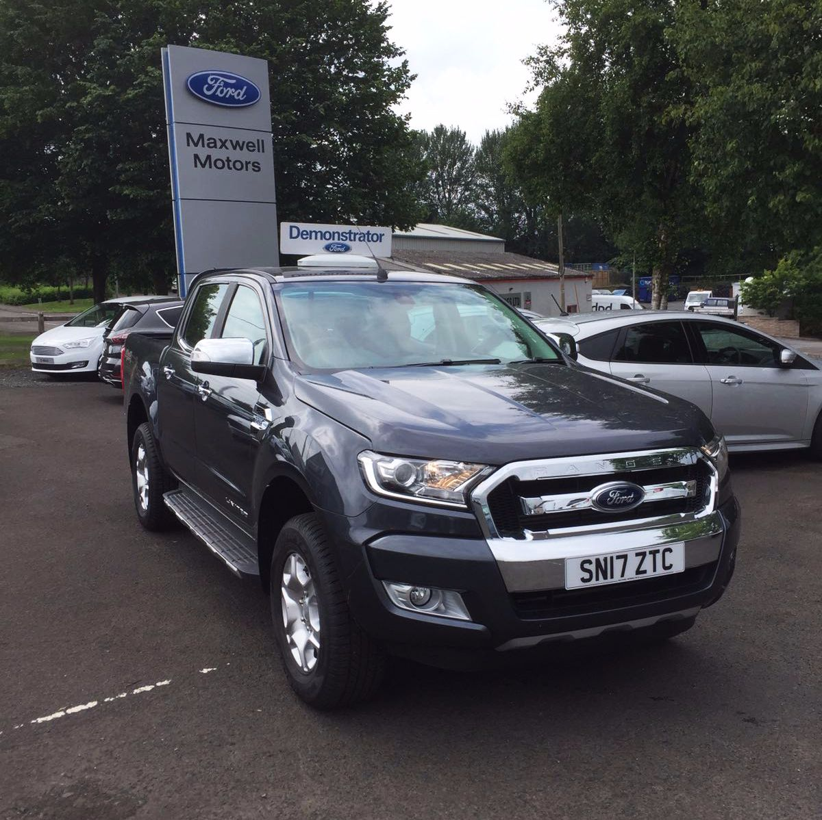 Ford RANGER 2.2 Limited 150PS Double Cab Pickup Auto