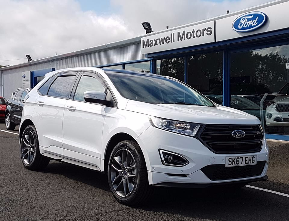 '67 PLATE FORD EDGE DEPARTS...