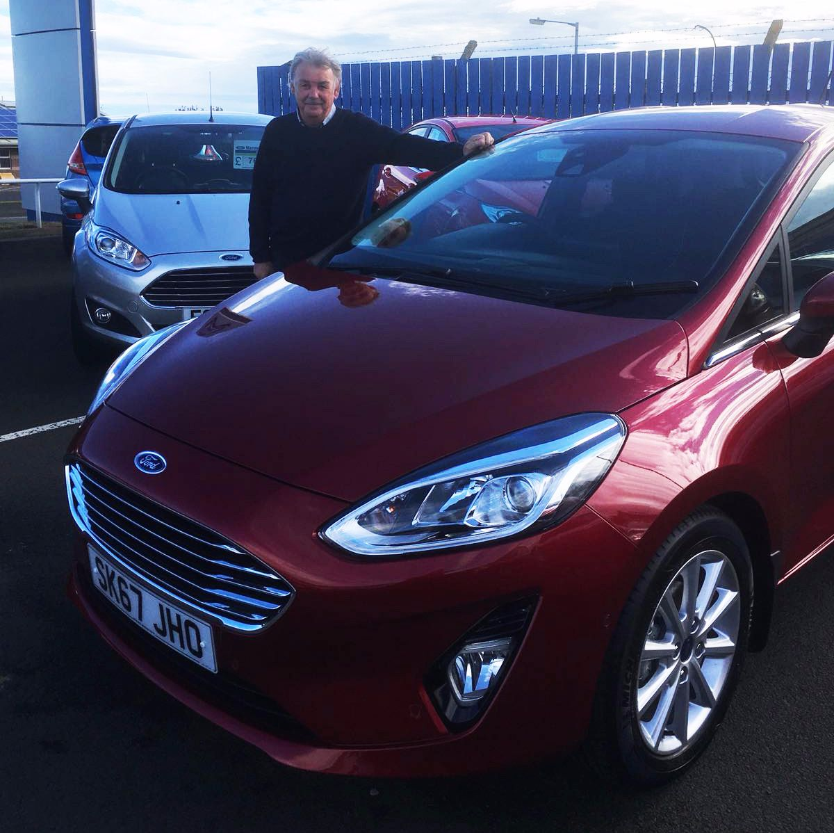 LOYAL CUSTOMER OPTS FOR NEW RUBY RED FIESTA...
