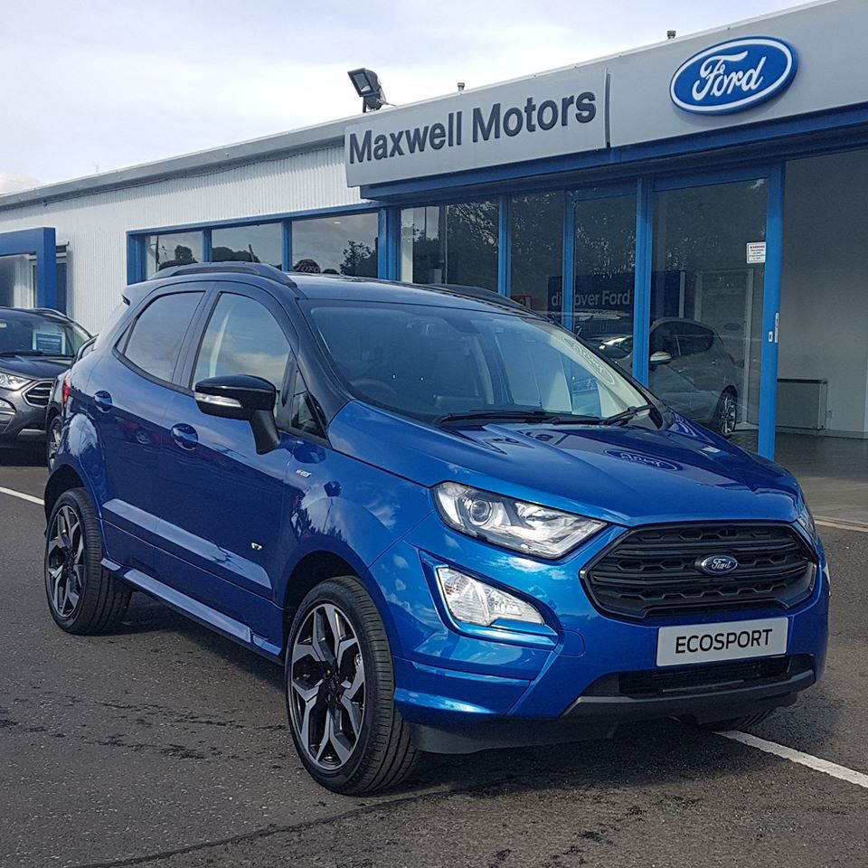 THE NEW FORD ECOSPORT AWD...