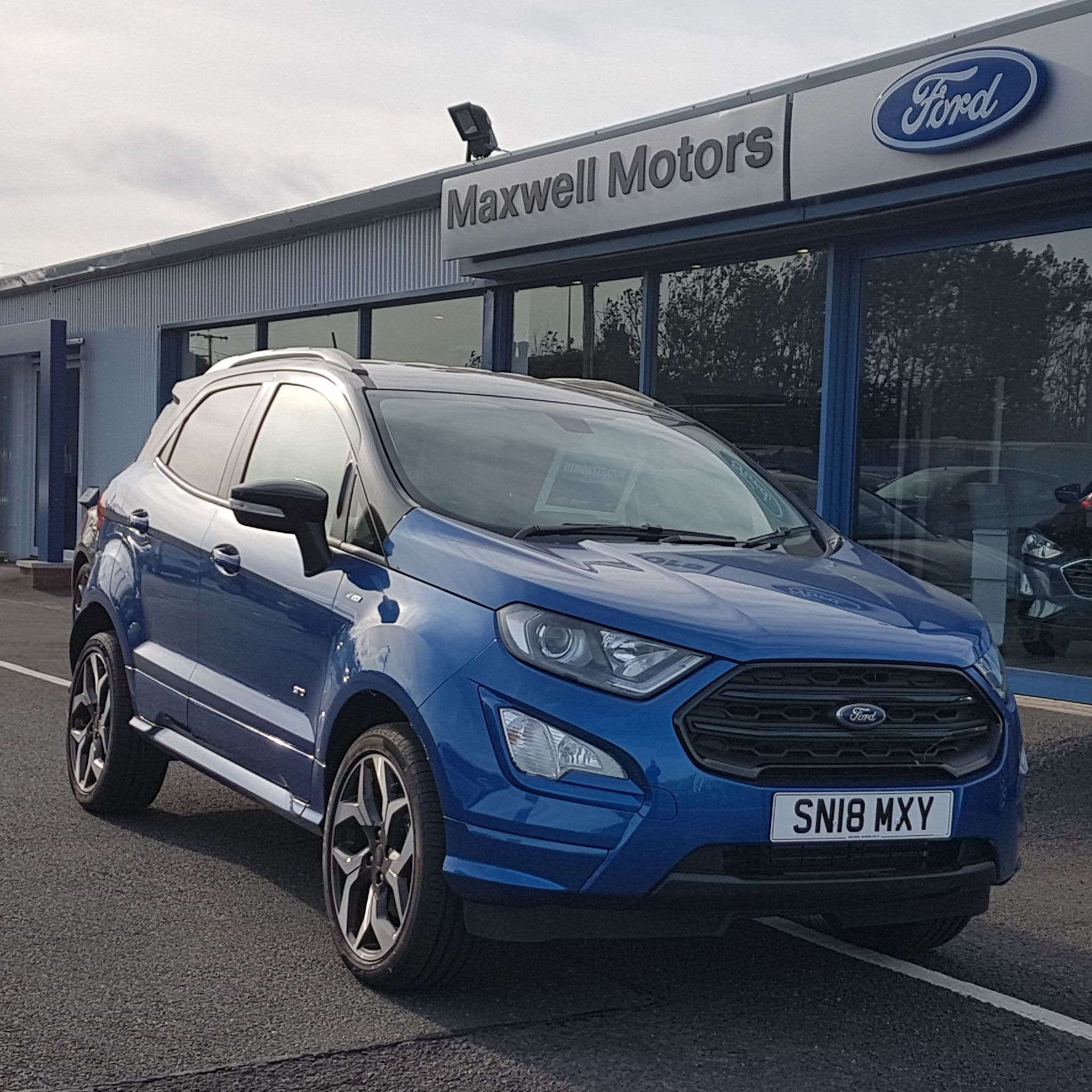 FORD ECOSPORT 1.5 TDCI 125PS ST-LINE AWD