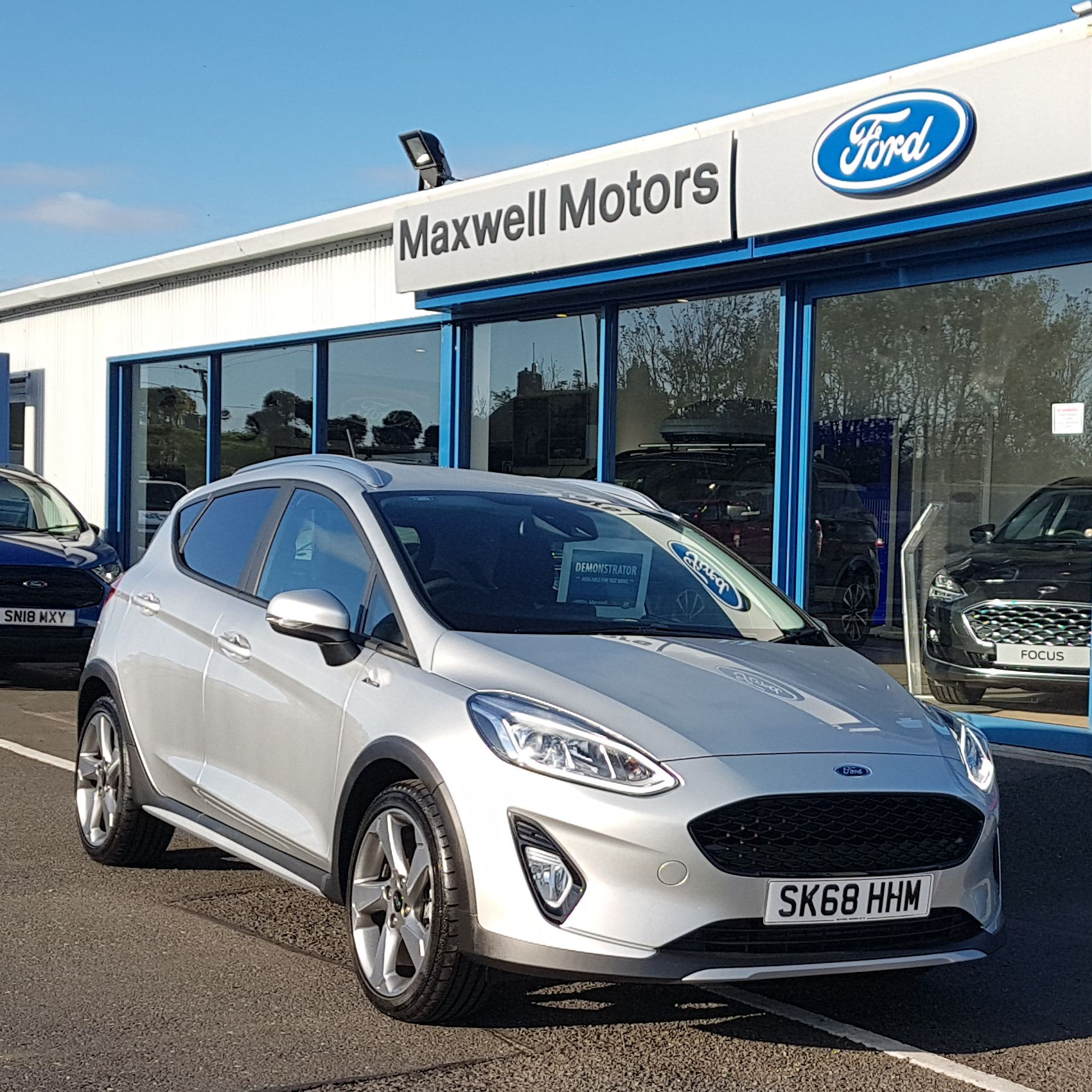 FORD FIESTA ACTIVE 1.0 100PS POWERSHIFT 5DR