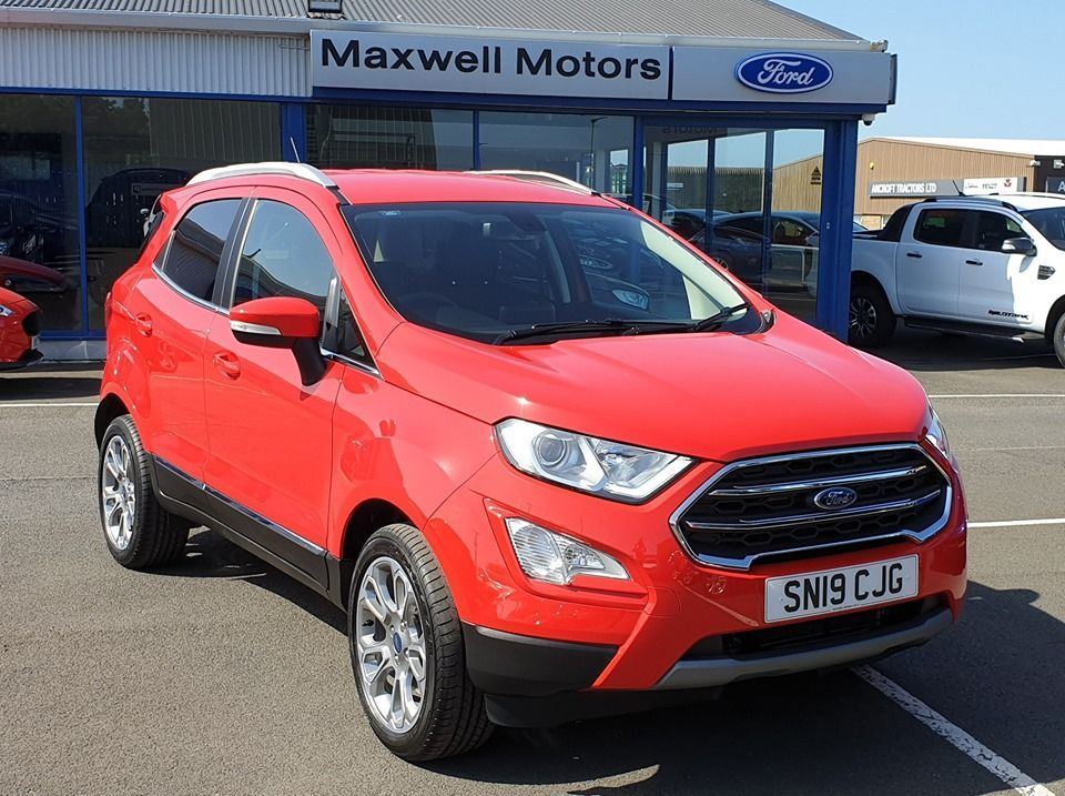 NEW ECOSPORT COLLECTED