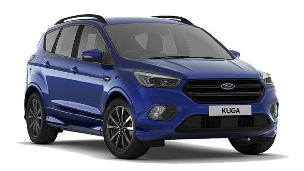 Ford Kuga - Available In Impact Blue