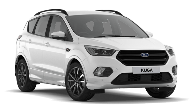 Ford Kuga - Available In Frozen White