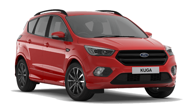 Ford Kuga - Available In Race Red