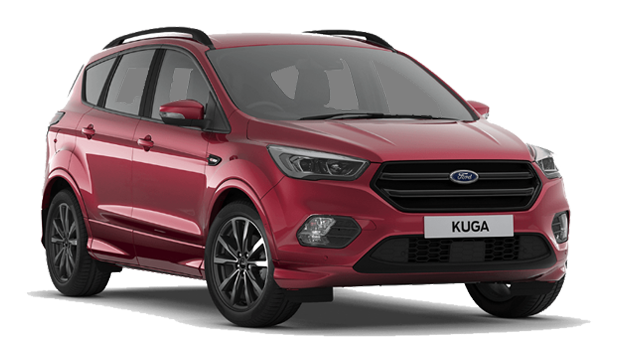 Ford Kuga - Available In Ruby Red