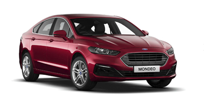 Ford Mondeo - Available In Ruby Red