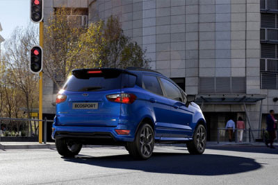 Ford New Ecosport - Elevated Driving